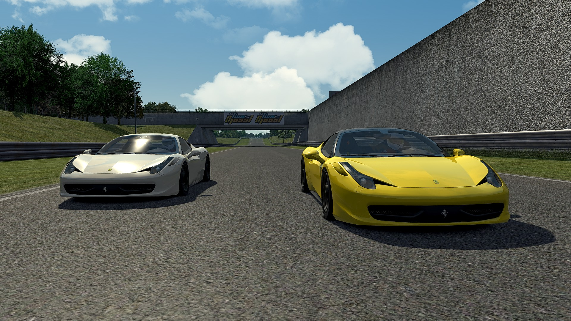 US event : Blackwood / F458 S3