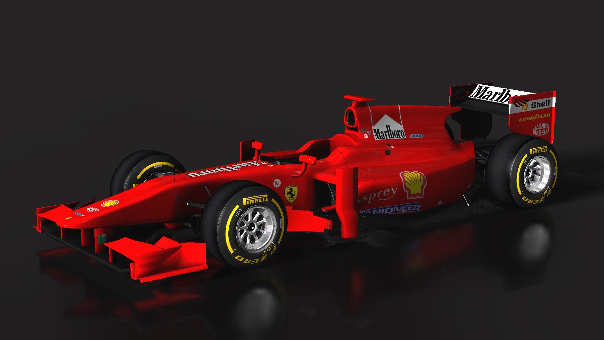 Ferrari F310B on GP2