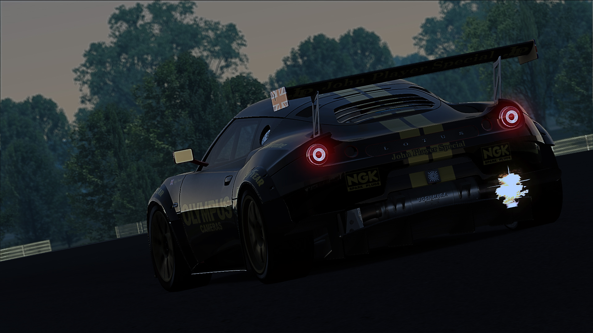 JPS  Lotus Evora GTC