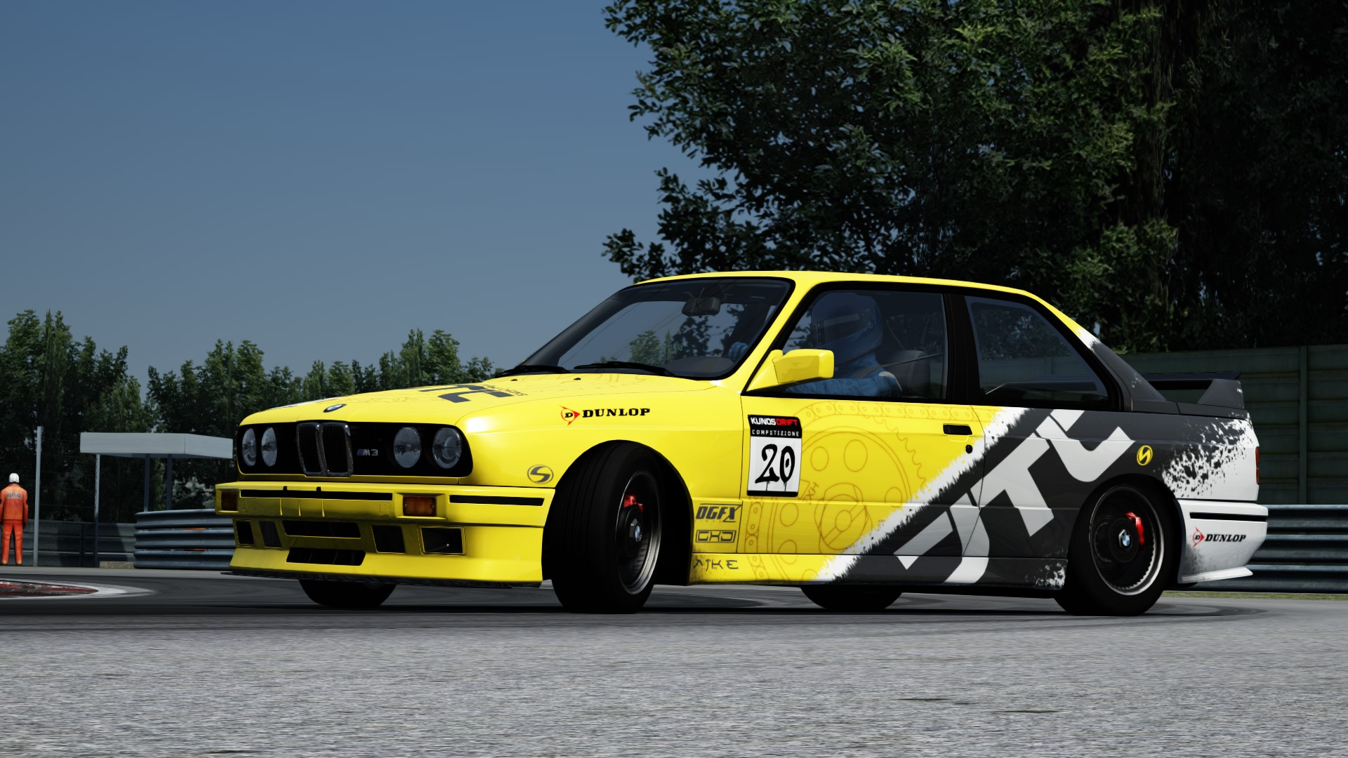 BMW M3 Drift