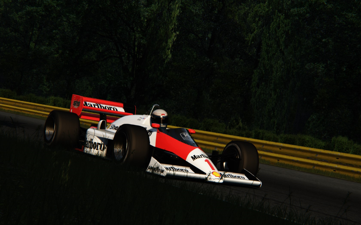 Alain Prost at Monza