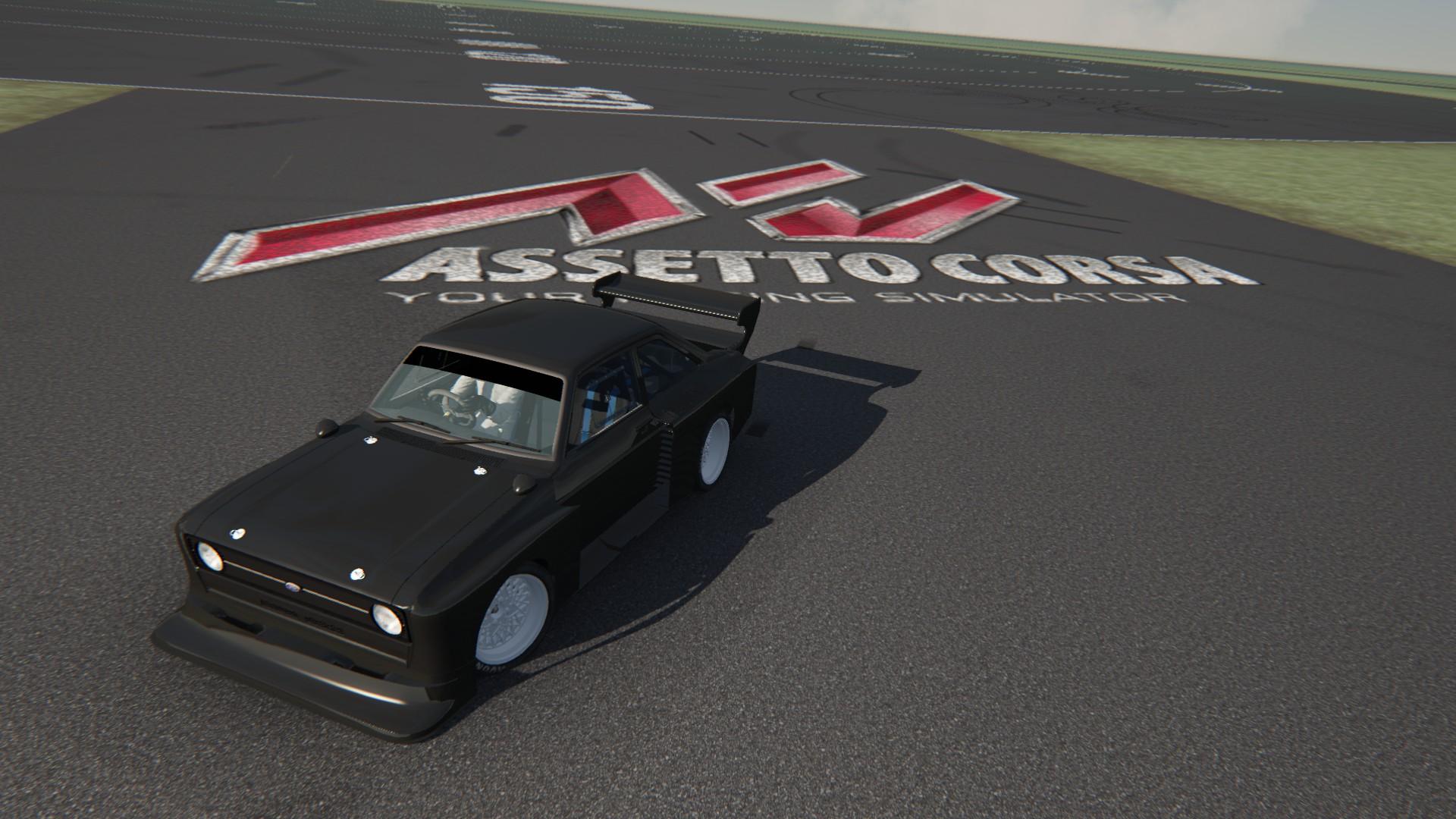 Zakspeed Ford Escort MK2 W.I.P.