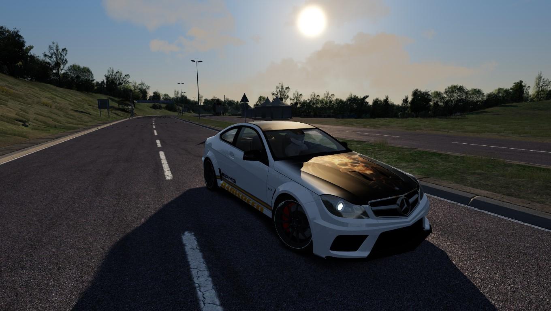 C63 AMG @ Miseluk track