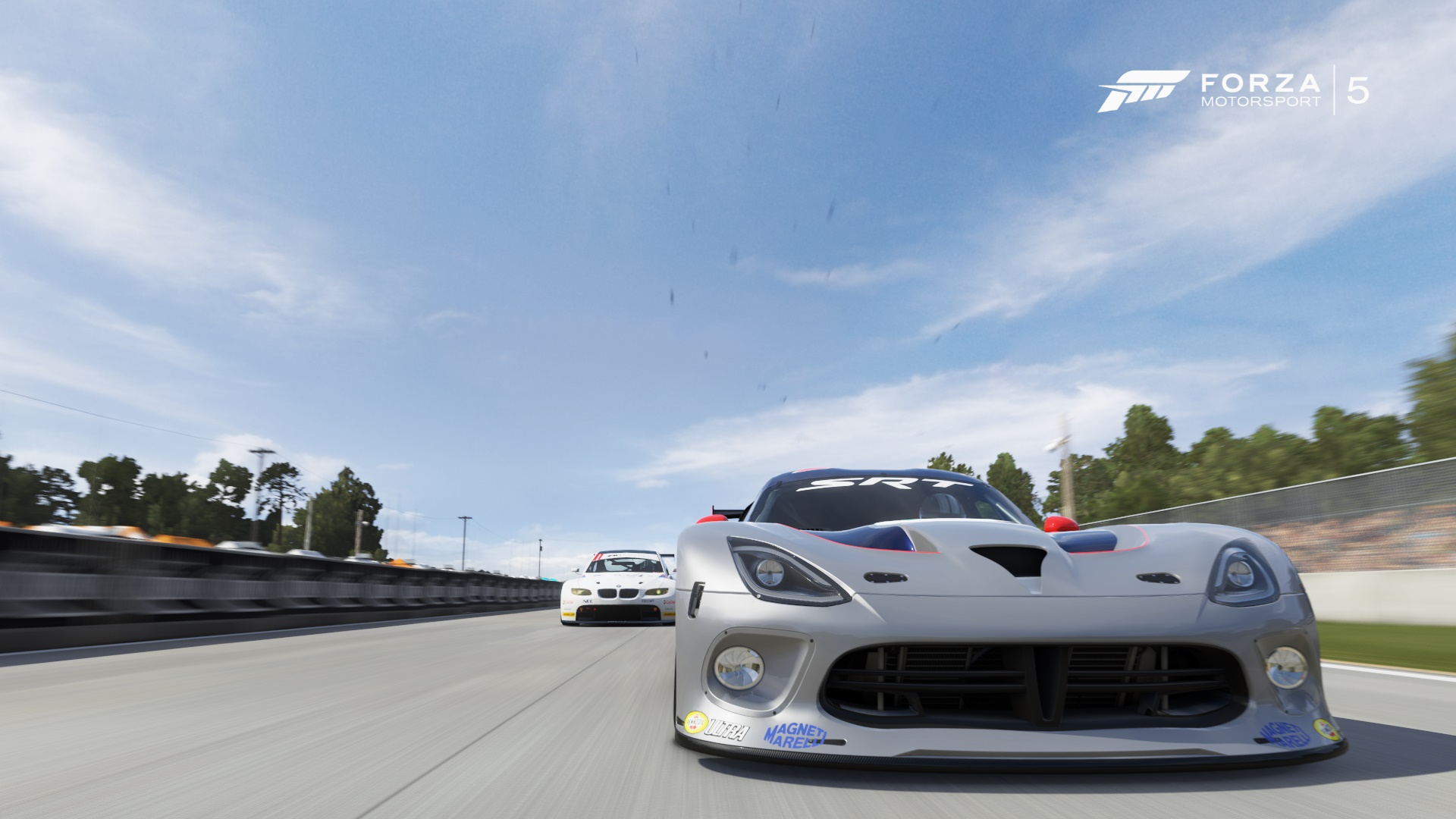 SRT Viper GTS R vs. BMW M3 GT2