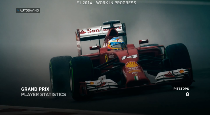 F1 2014 Loading Screen #2