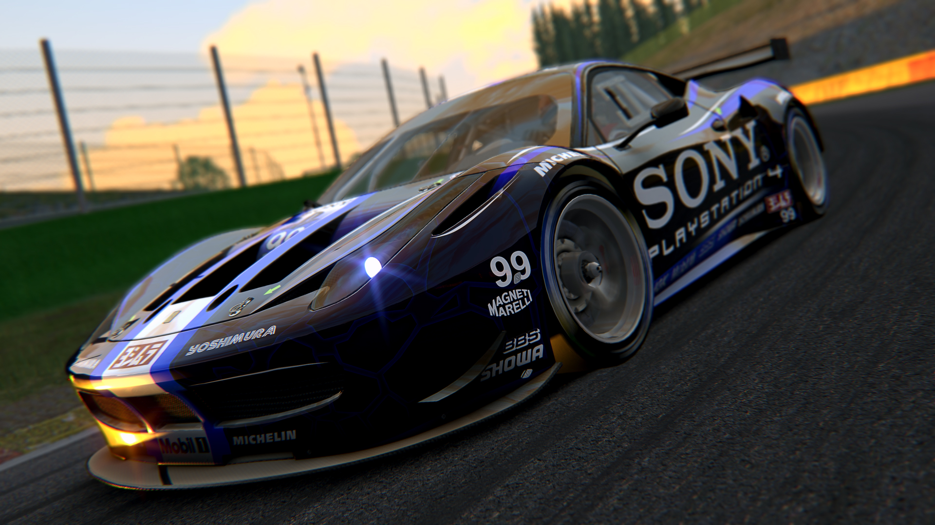 458 GT2 + Spa
