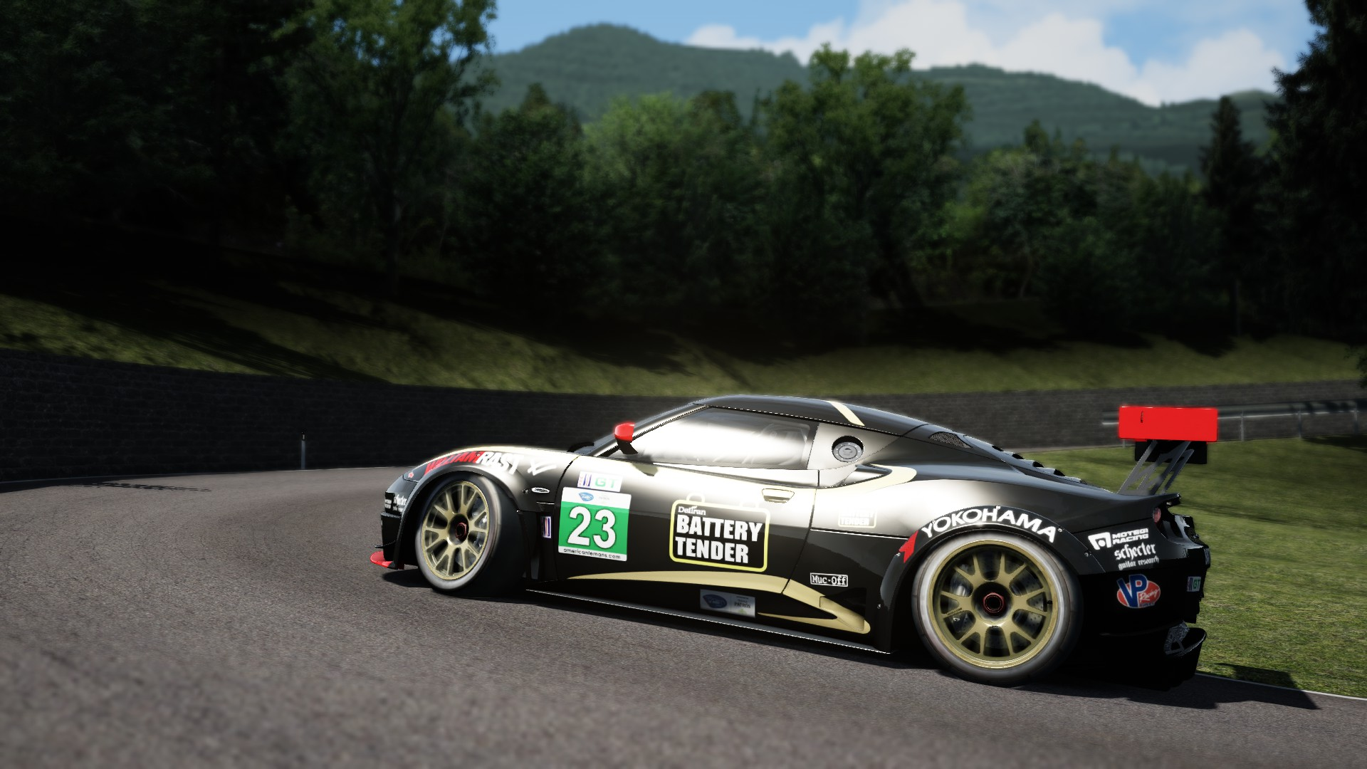 Hillclimb with Lotus