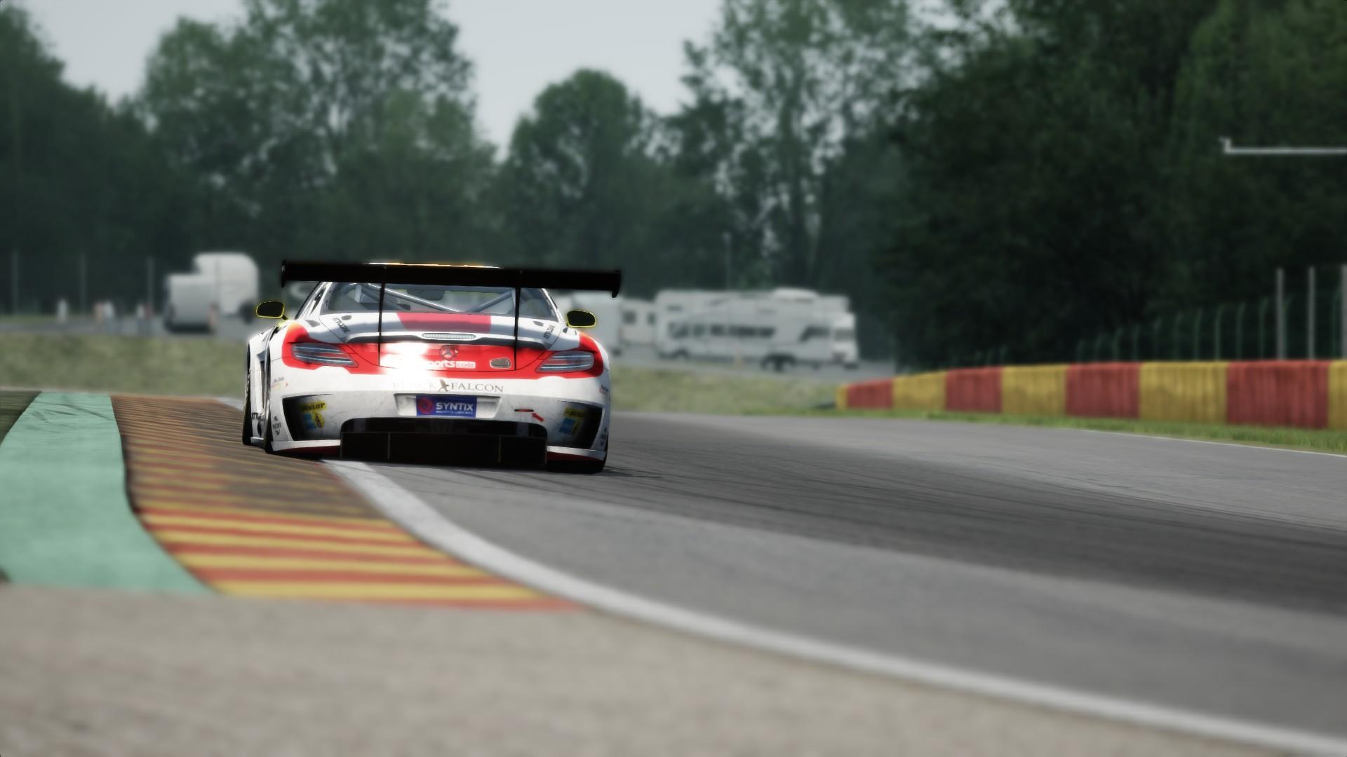 Mercedes SLS GT3 SPA #1
