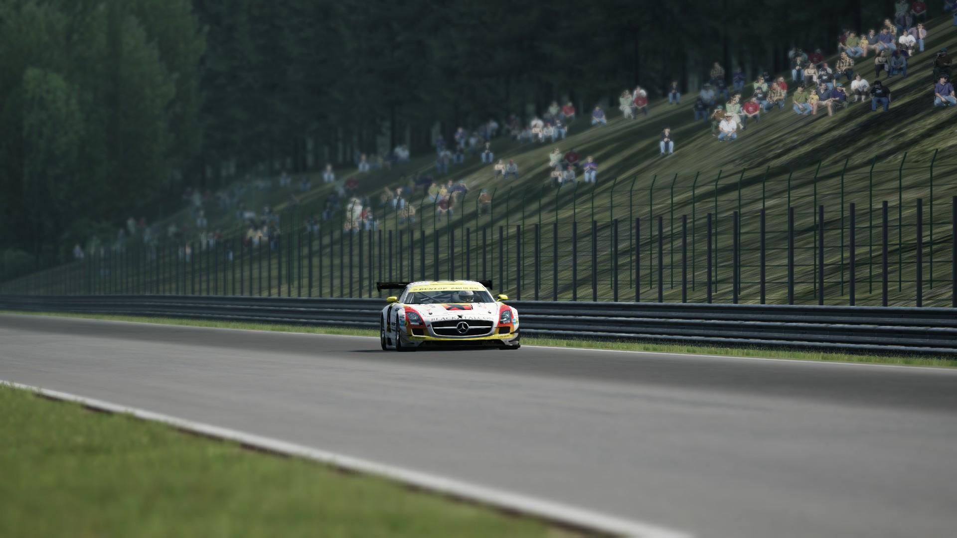 Mercedes SLS GT3 SPA #2