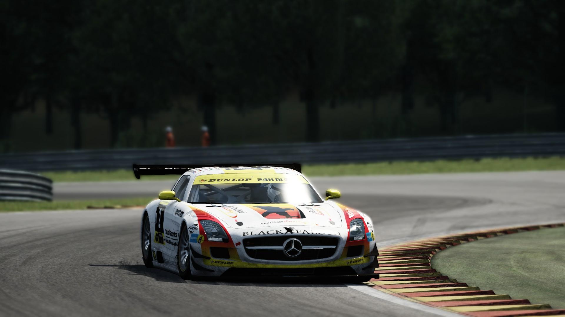 Mercedes SLS GT3 SPA #3
