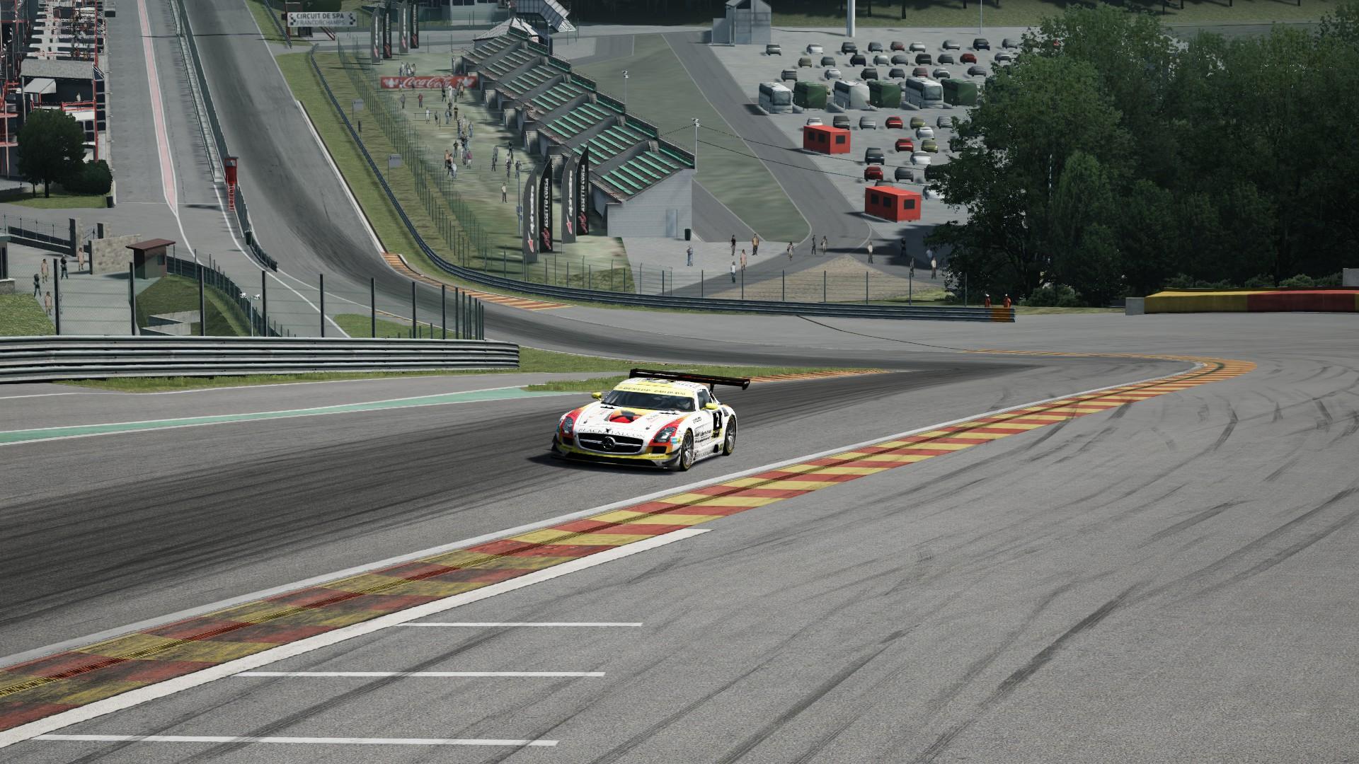 Mercedes SLS GT3 SPA #4