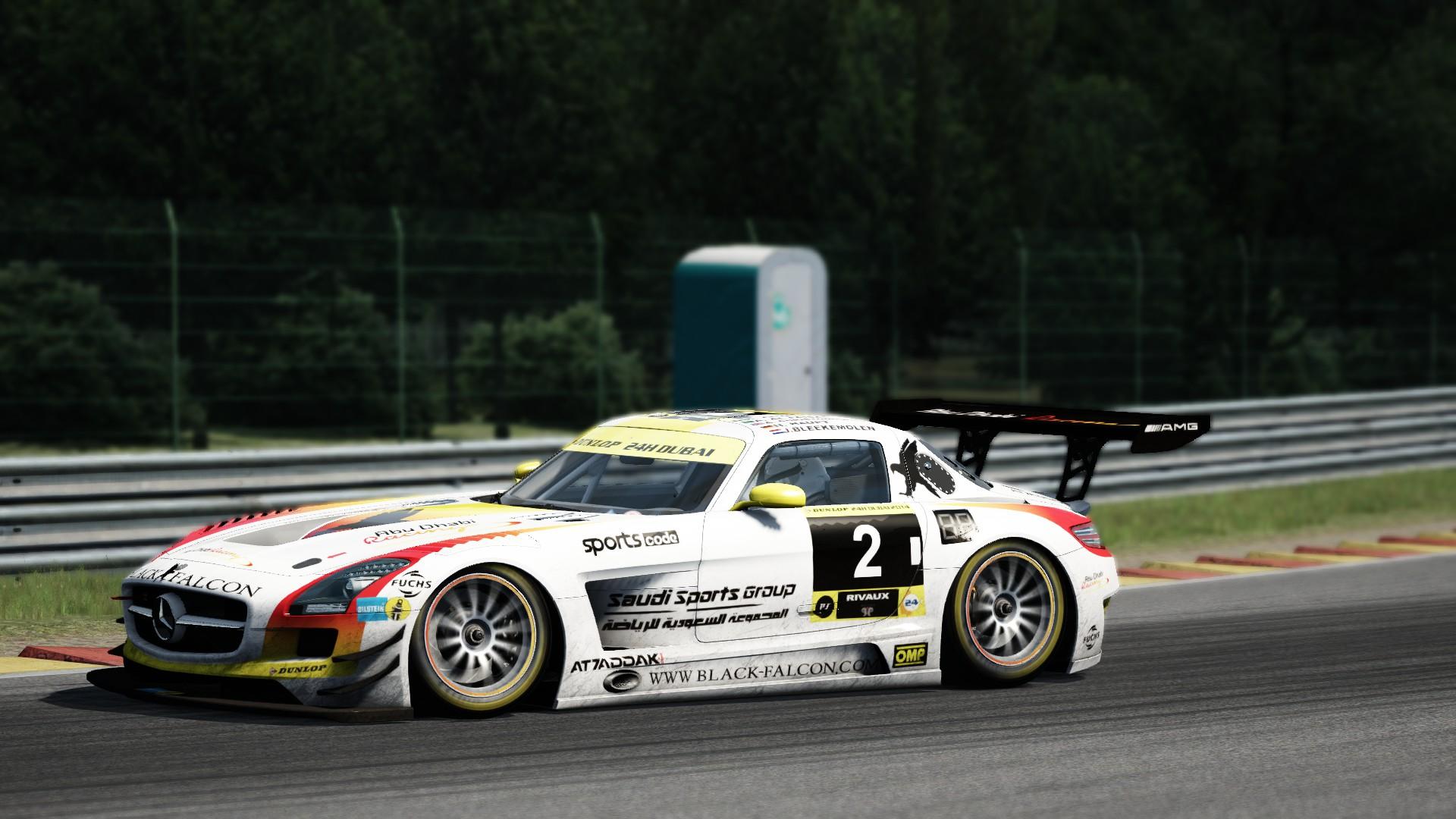 Mercedes SLS GT3 SPA #5