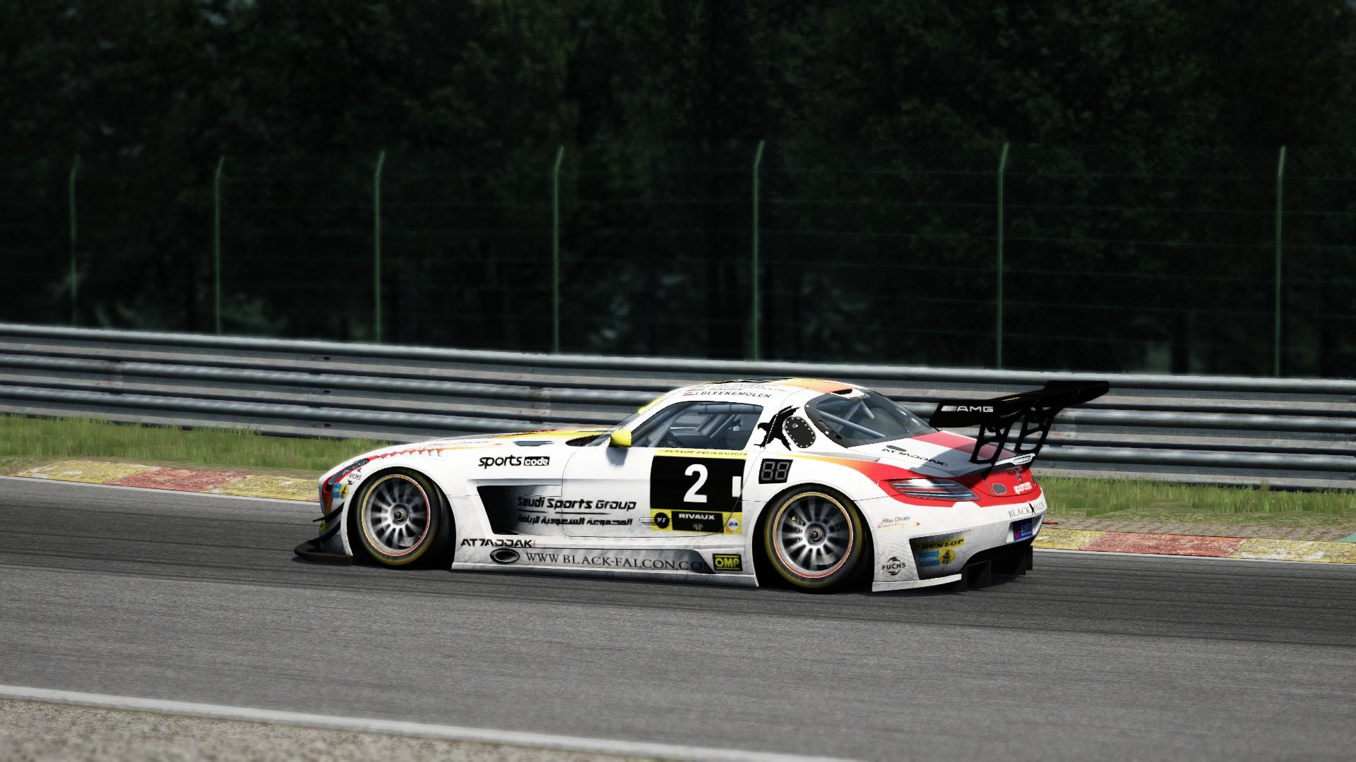 Mercedes SLS GT3 SPA #6