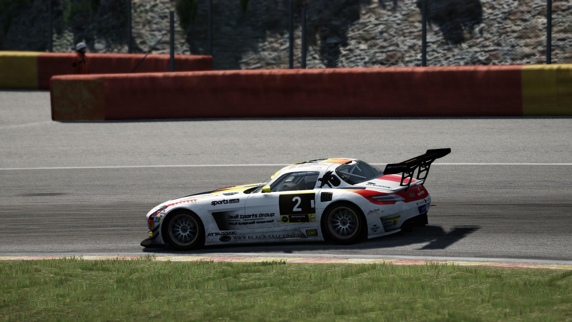 Mercedes SLS GT3 SPA #8