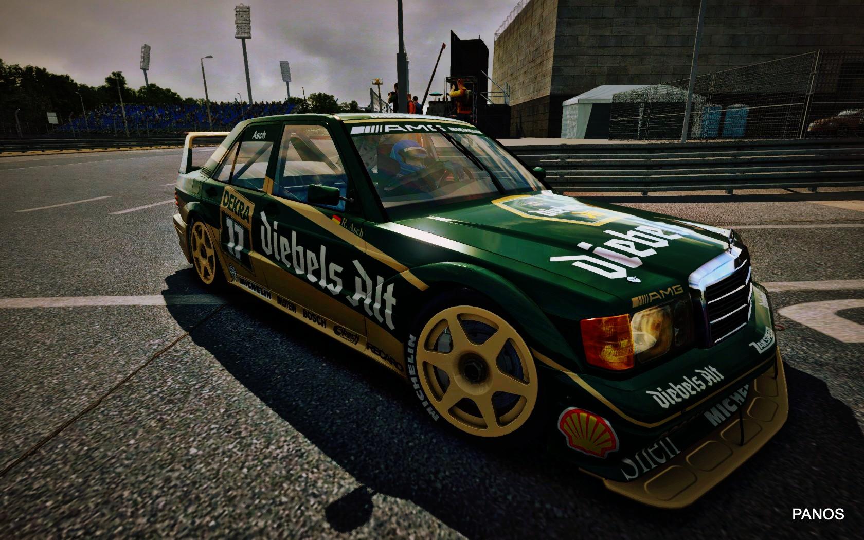 Mercedes dtm 1992