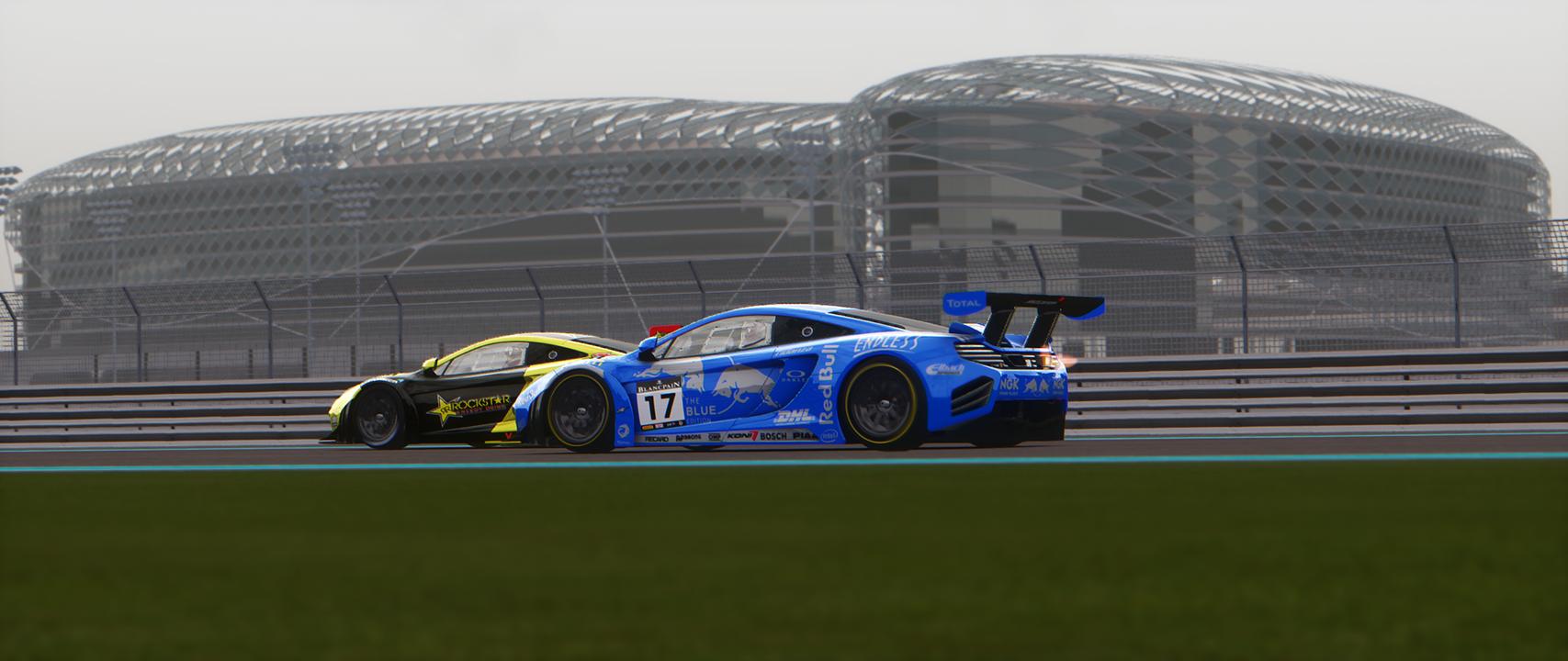 Yas Marina GT3 Race