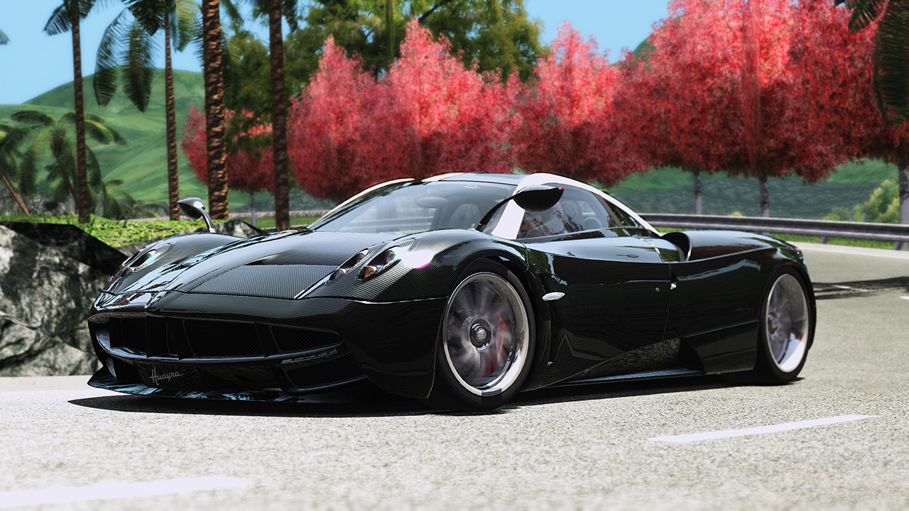 Huayra at Dragon Range