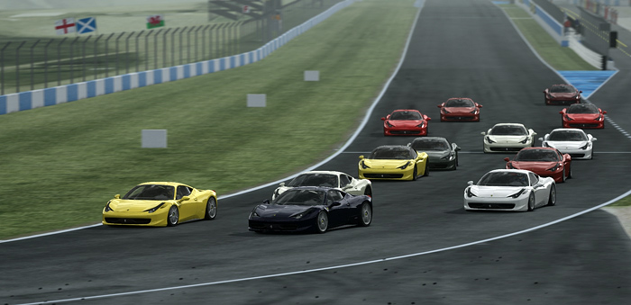 Assetto Corsa Racing Club - 458 S3 at Donington National