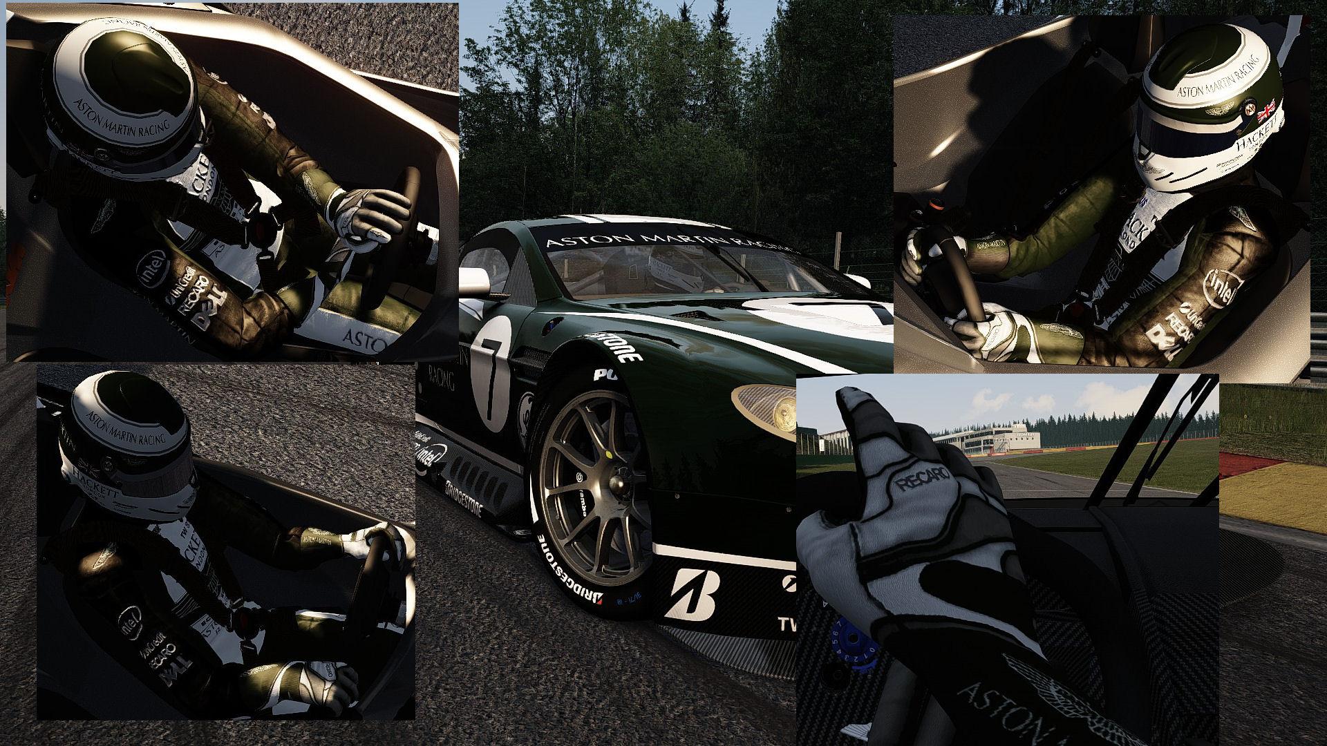 Aston Martin suit