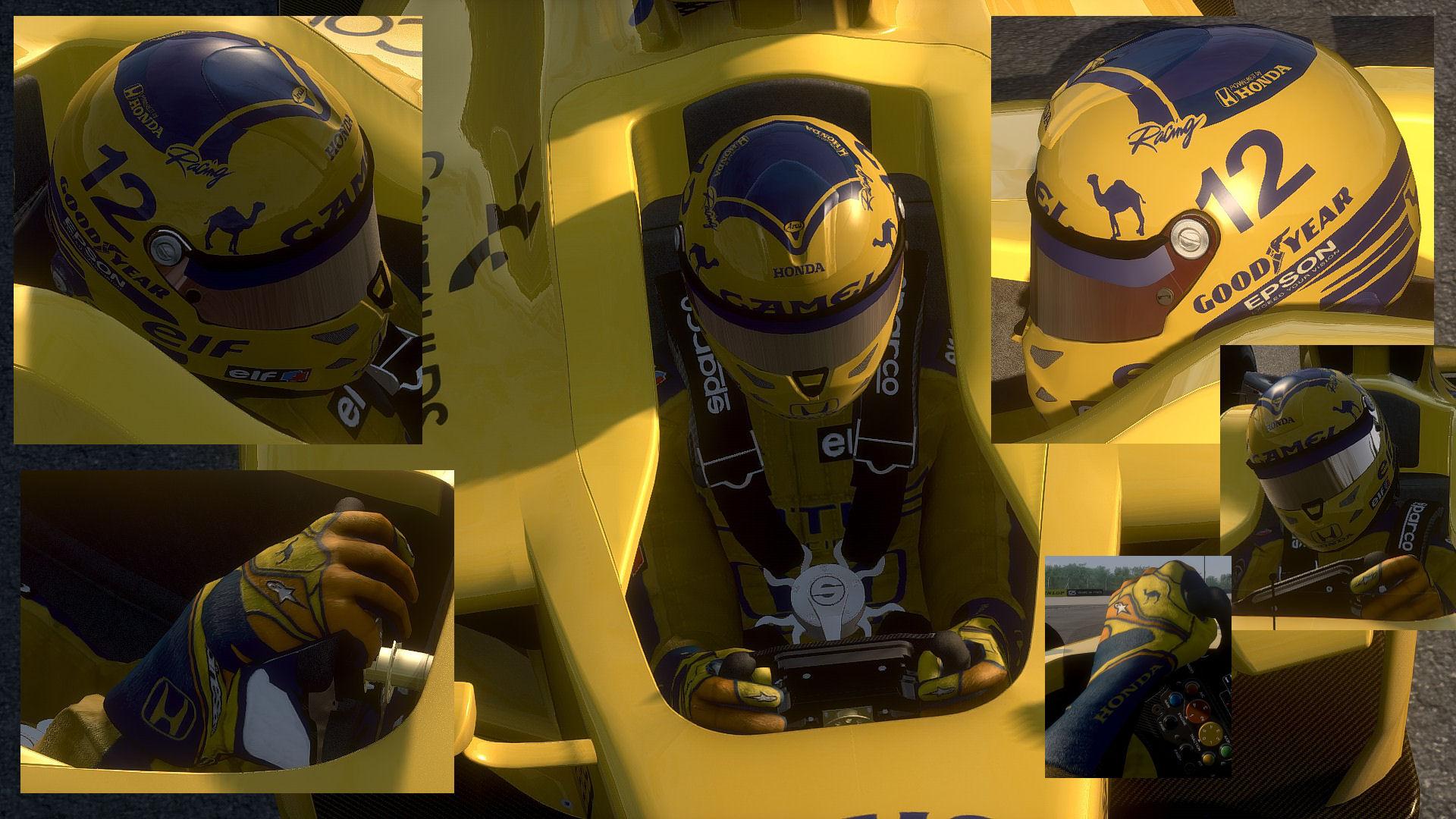 Camel F1 suit