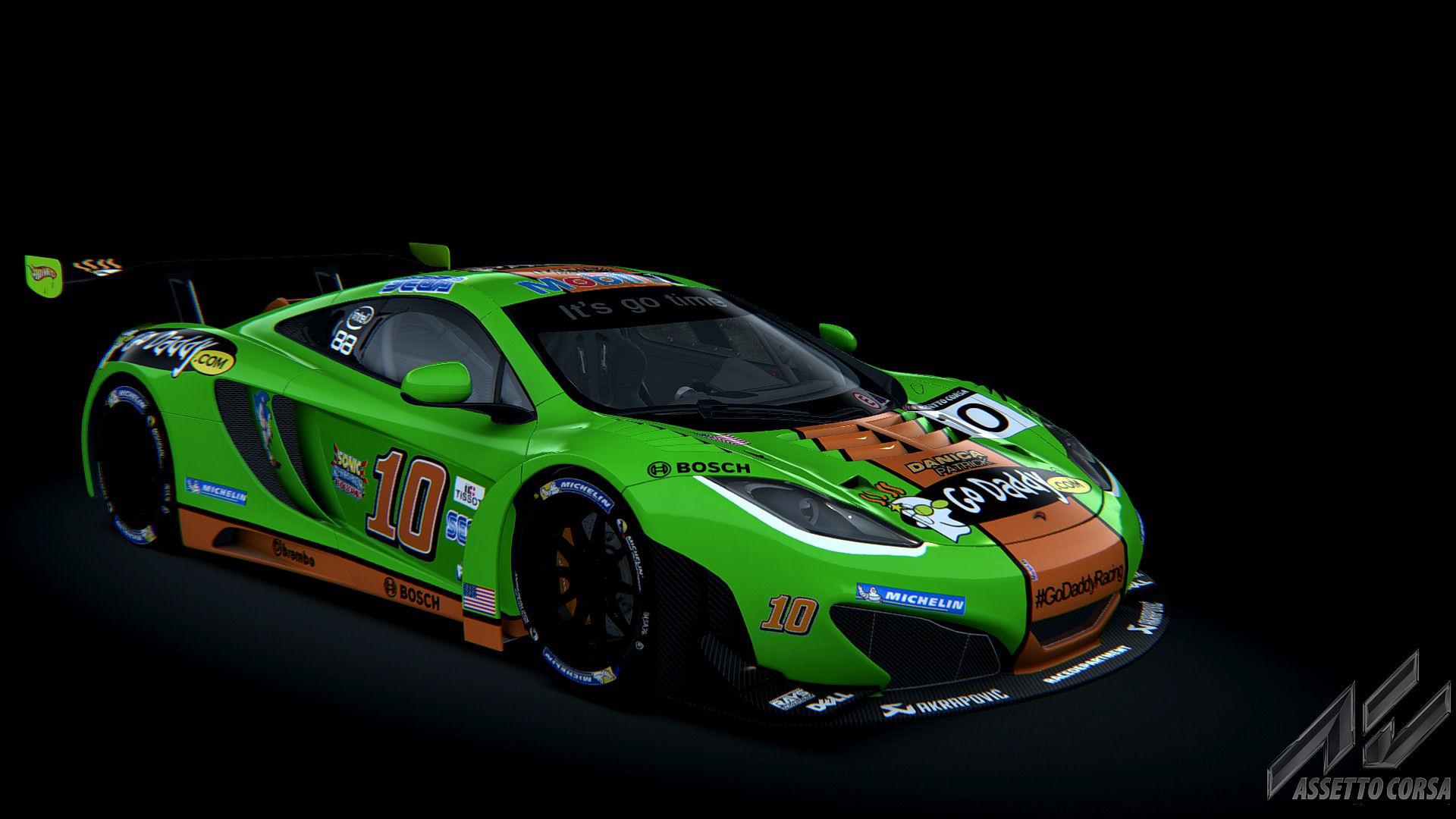 My GoDaddy McLaren