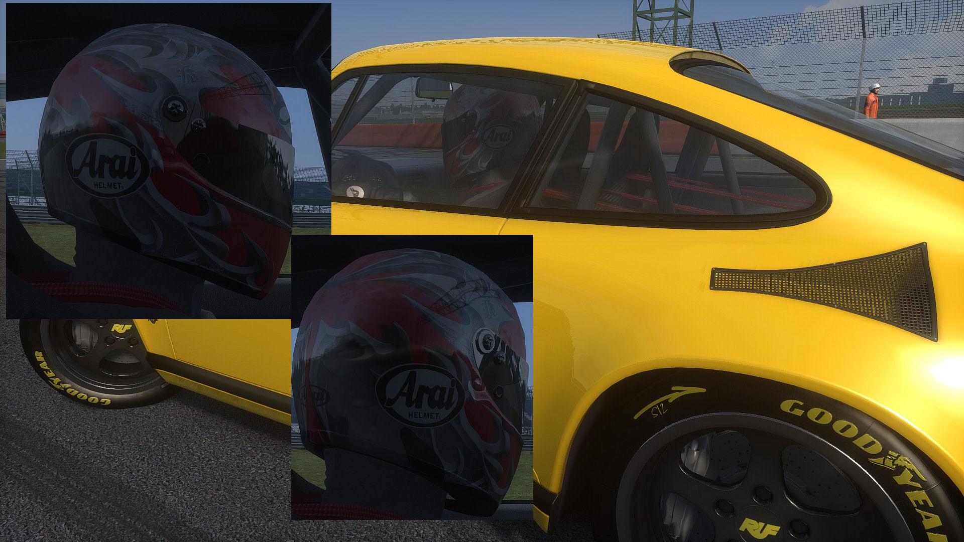 Arai Viper Helmet 1985 WIP