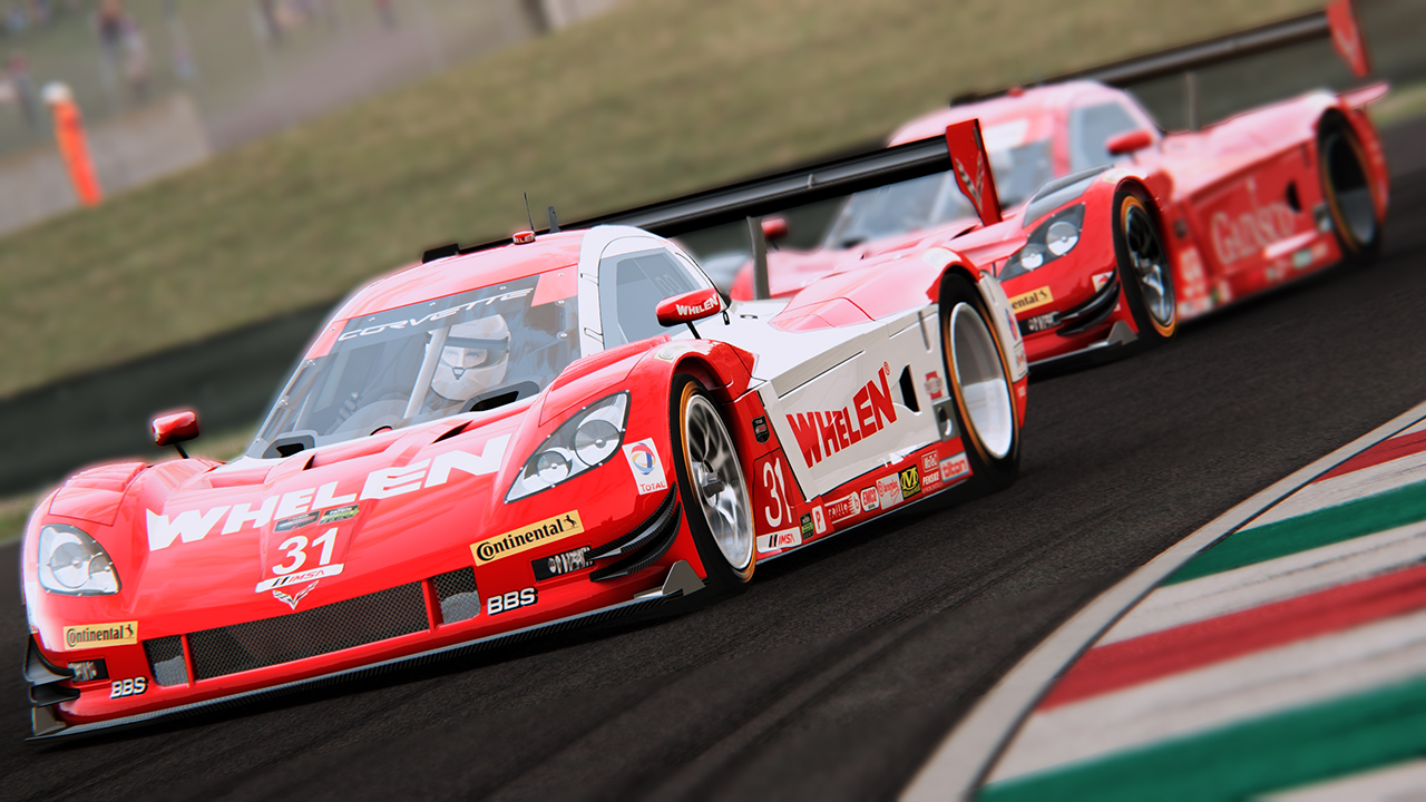 2014 Coyote Corvette Daytona Prototype by the IER Modding Group @ Mugello