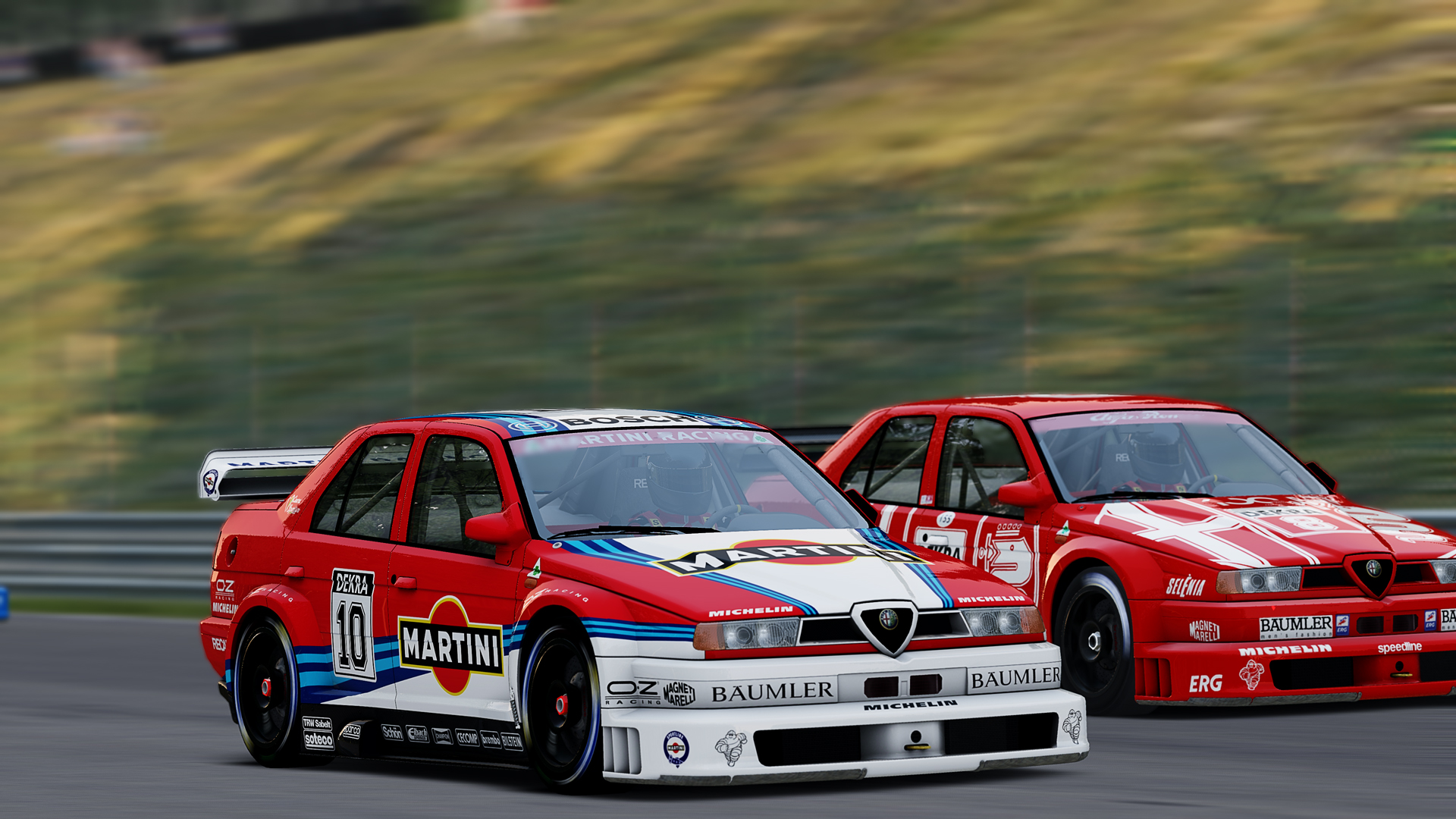 Dueling Alfas
