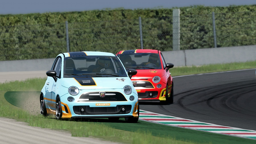 Racedepartment AU - Fiat 500 at Mugello
