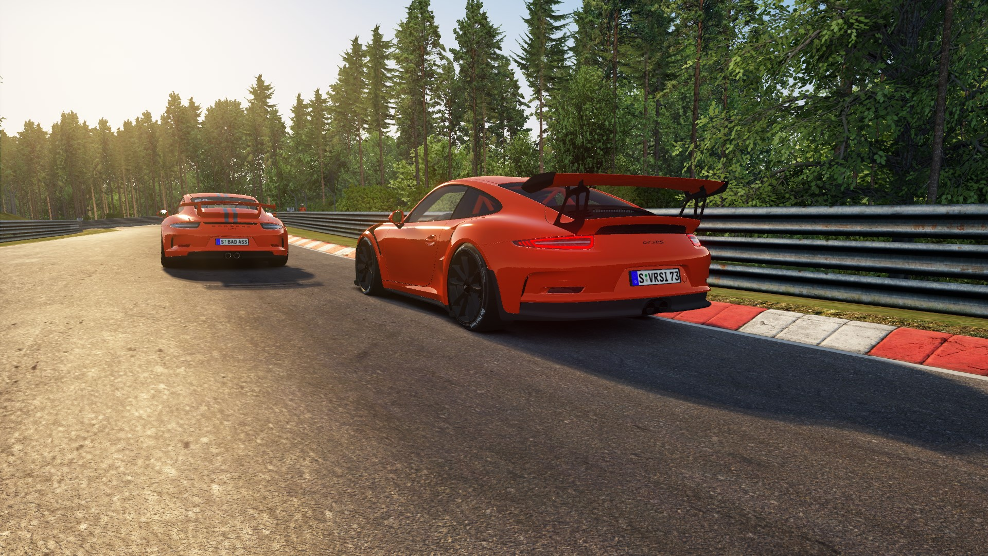 A.C GT3 VS GT3 RS