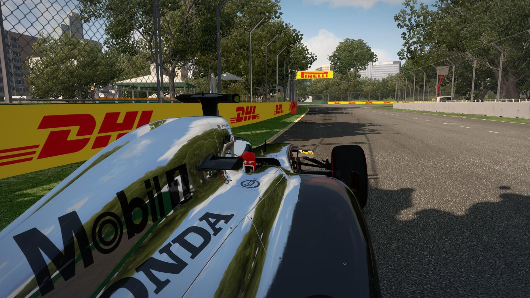 McLaren Honda in Oz.