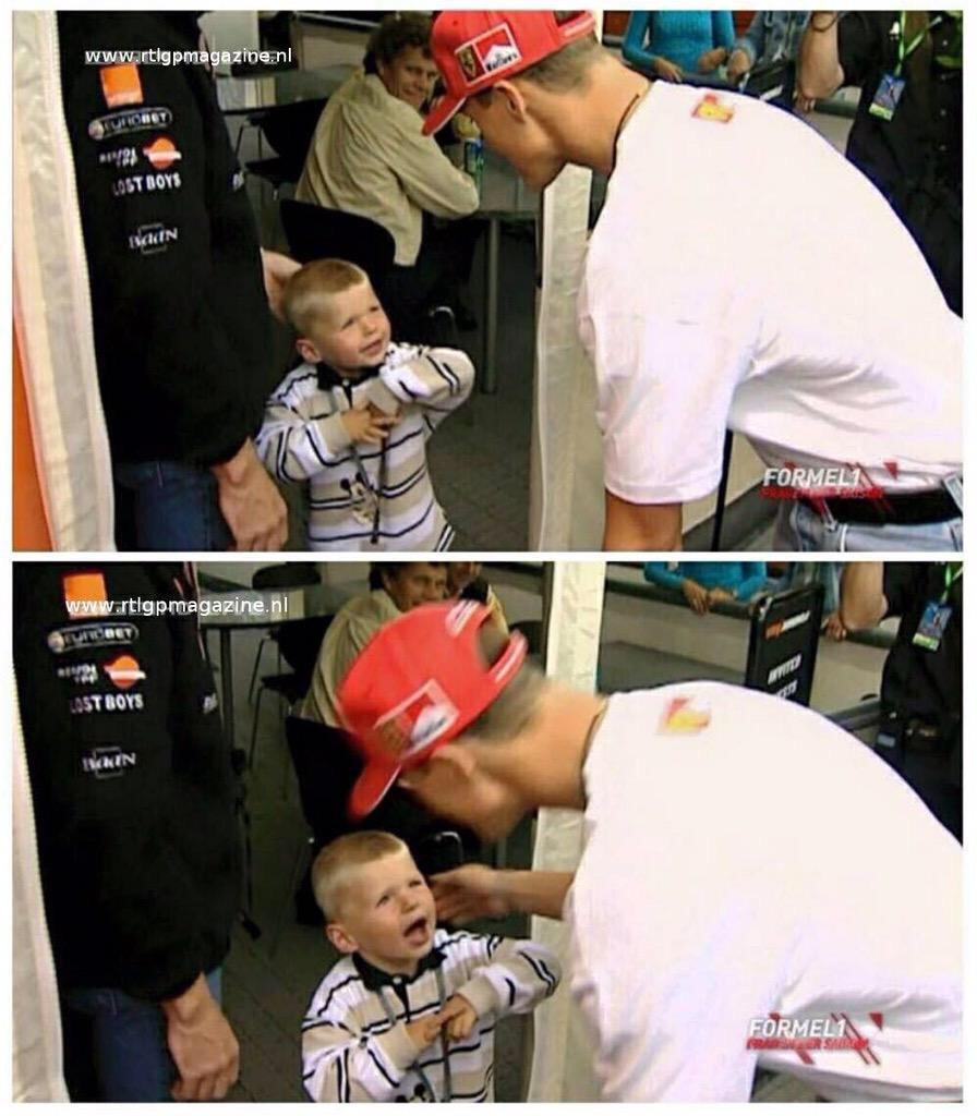 Michael Schumacher meets Max Verstappen