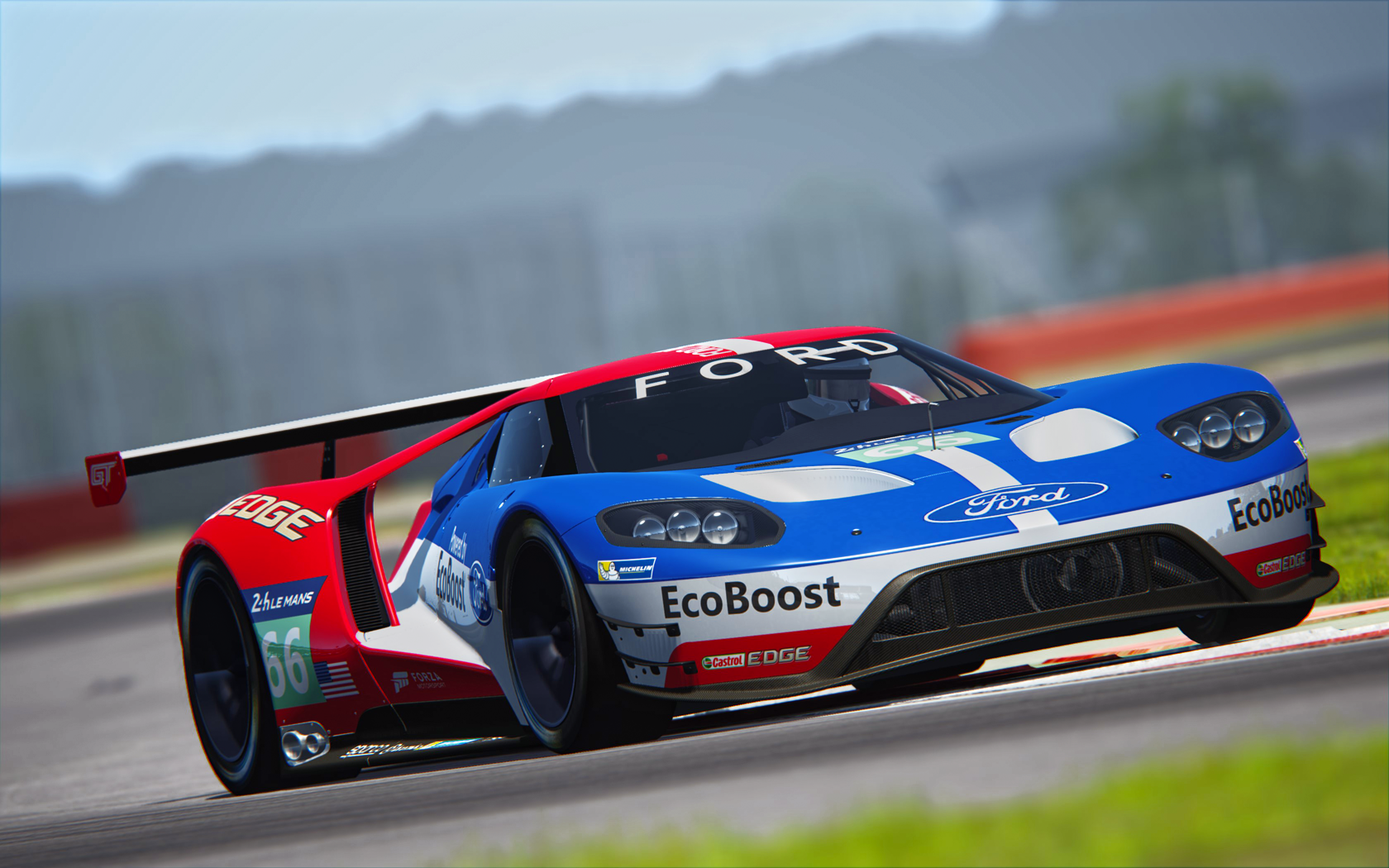 photo ford gt le mans 2016 assetto corsa in the album other racing games by shenongz. Black Bedroom Furniture Sets. Home Design Ideas