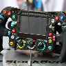 Mercedes Steering Wheel - Rosberg