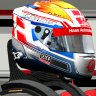 Danish - Haas helmet  - no. 23 an NO number