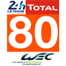 Porsche #80 GTE AM Le Mans 2018 for URD EGT Darche