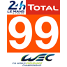 Porsche #99 GTE AM Le Mans 2018 for URD EGT Darche