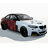 Dark Side BMW M235i Racing - DRL Cup Livery