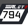 McLaren 650 GT3 - MRL - Ice Watch Flentex Racing - Dennis S. | #794
