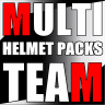 Multi Team Career Helmet Pack