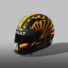Nico Hulkenberg helmet GP.Germany_2019