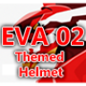 Evangelion EVA-02 Themed Career Helmet