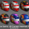 Carlos Sainz Jr Career Helmets