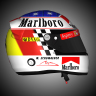CLASSIC HELMET for F1 2019: Michael SCHUMACHER 1998 Japan version