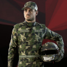 SUIT CAP BOOTS GLOVES for F1 2019: CAMOUFLAGE