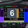 SimHub Custom Dash Overlay for Toyota TS040 LMP1H