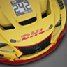 DHL livery for the Lexus RC F GT3