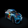 Porsche Cayman GT4 Skin for Guerilla Mods Porsche No 55