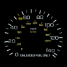 US-spec gauge package for the 1988 Honda Prelude 2.0 Si