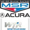 RSS Acura ARX05 DPi 2021 Meyer Shank Racing and Wayne Taylor Racing.